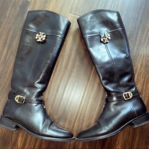 Tory Burch Eloise Riding Boots 7.5